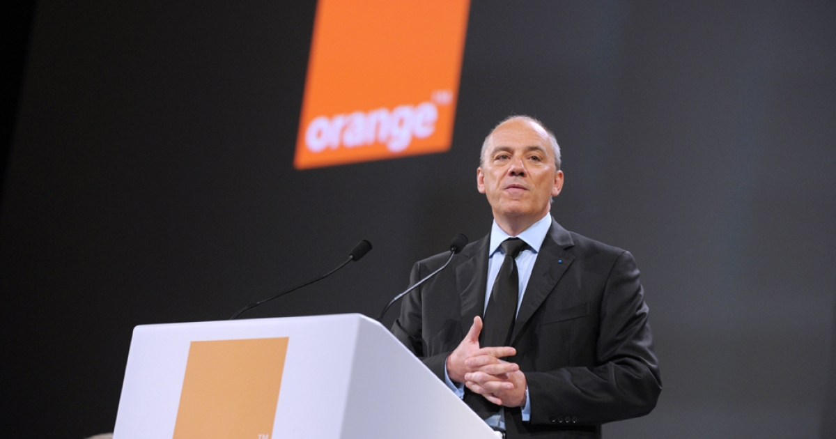 The chairman and chief executive officer of French telecommunications operator France Telecom-Orange, Stephane Richard.</p>