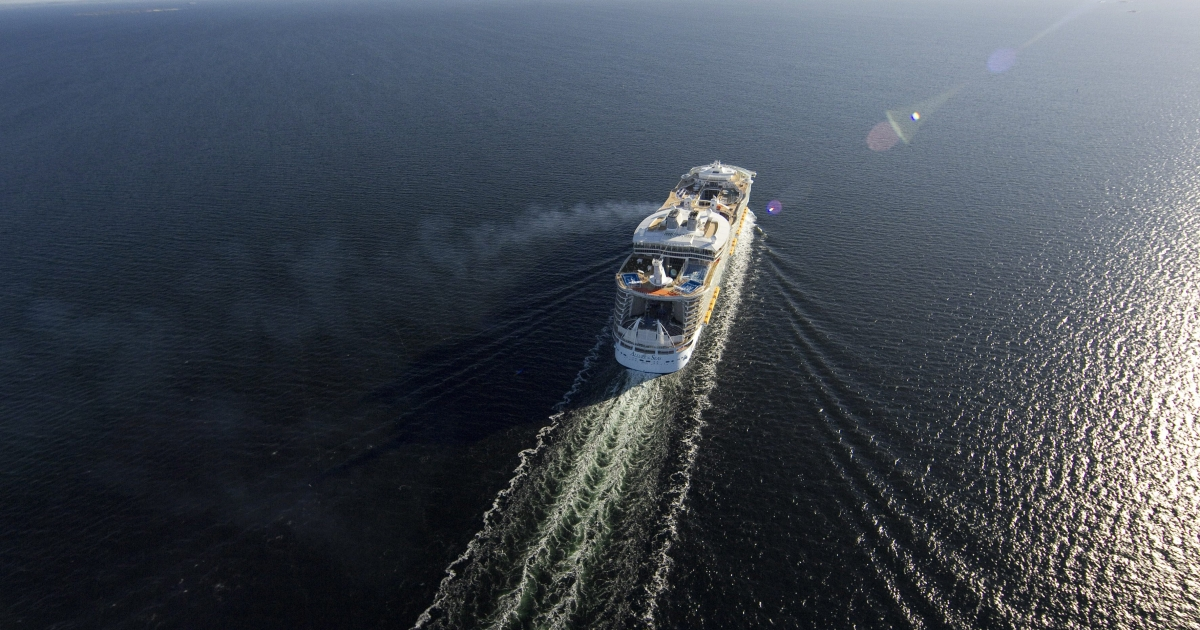 A Royal Caribbean cruise ship was docked Sunday morning in Port Everglades, Fla. to be sanitized after 108 people were stricken with the norovirus.</p>
