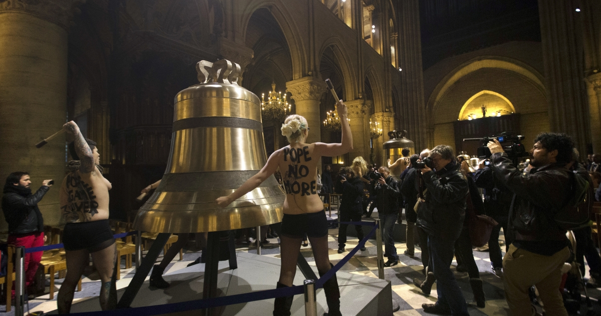 Paris' Notre Dame cathedral will inaugurate nine new bells this Palm Sunday.</p>