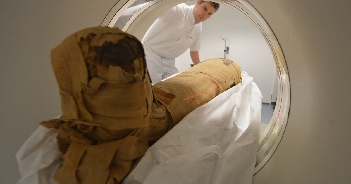 Researchers used CT scans on 137 mummies and found signs of cardiovascular problems, possibly proving that heart disease is not only a modern problem.</p>