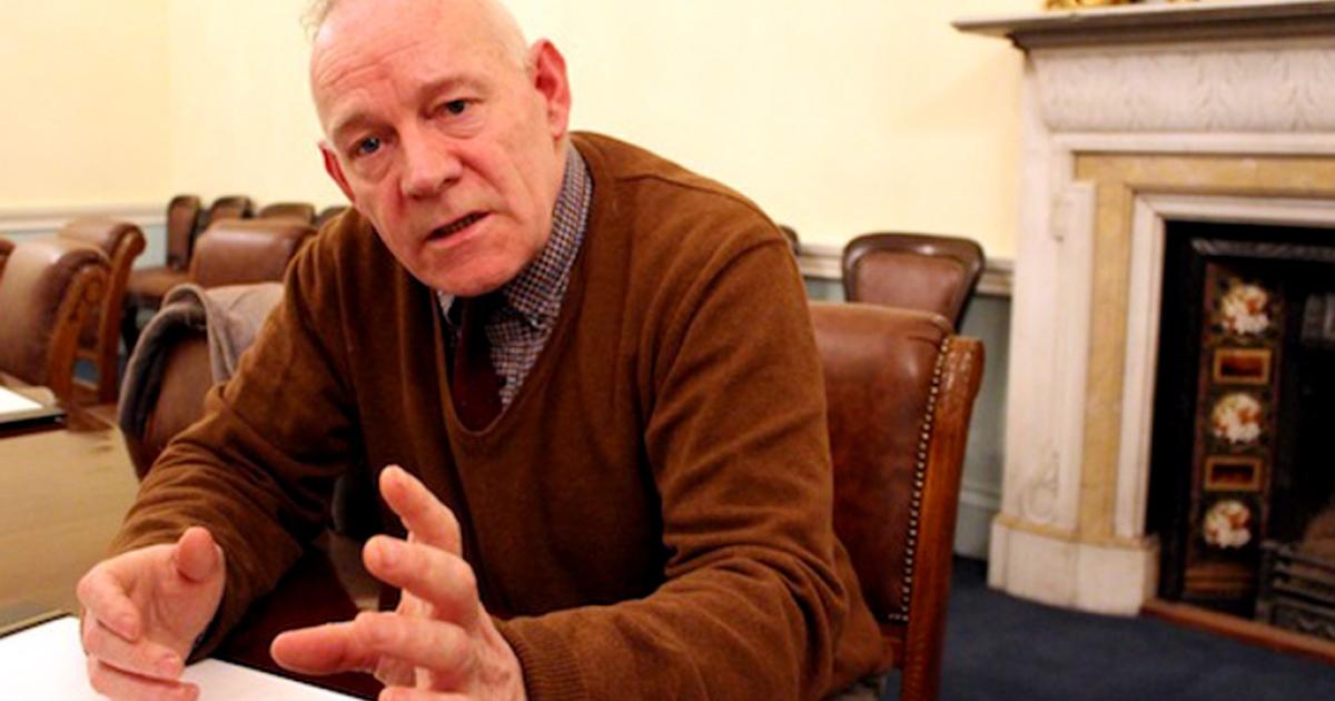 Dublin City Councillor Mannix Flynn</p>