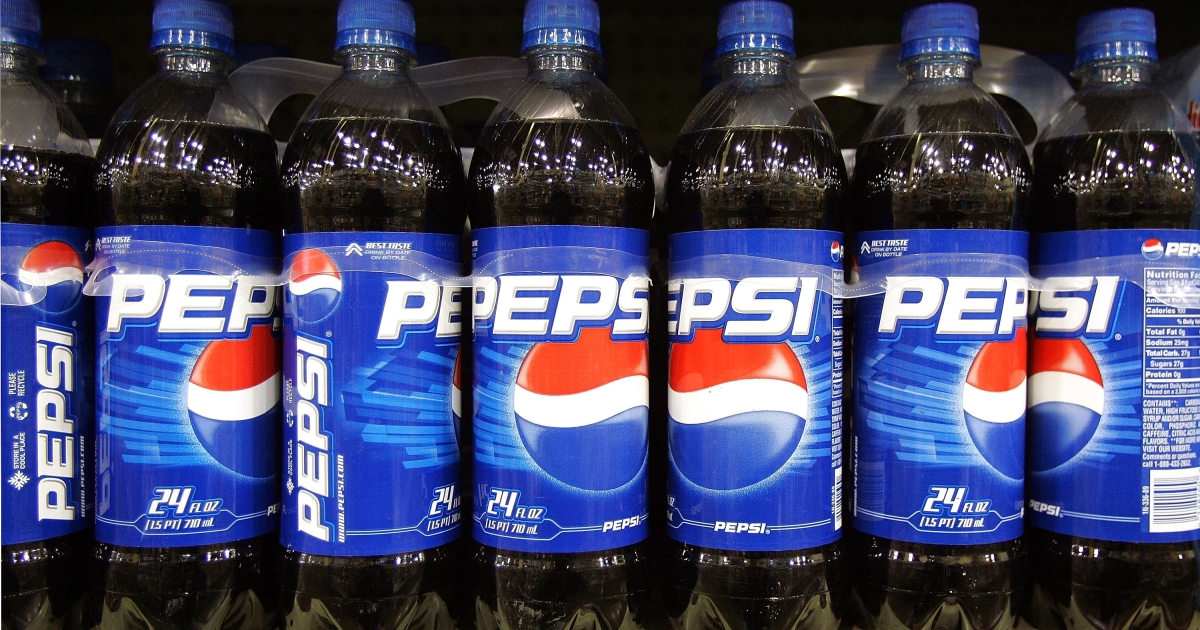 Pepsi has redesigned its 16-ounce bottle for the first time since 1996.</p>