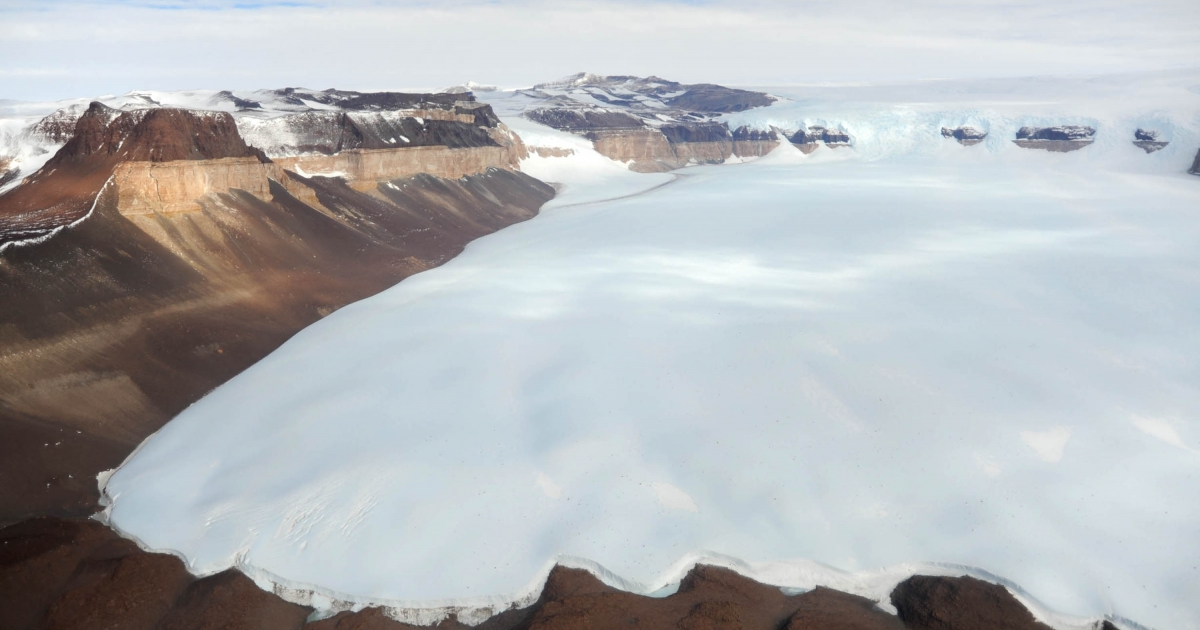 Researchers say a lake buried under 2 miles of ice in Antarctica is teeming with life.</p>