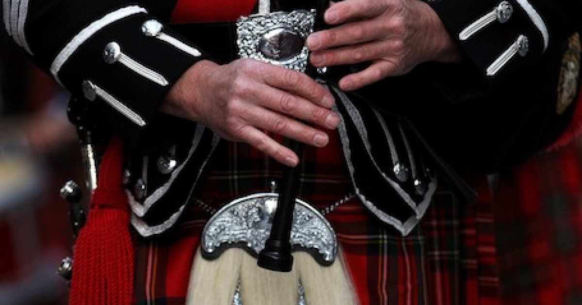 Lifelong musician John Shone became seriously ill with fungal pneumonia after inhaling spores growing in dirty bagpipes.</p>