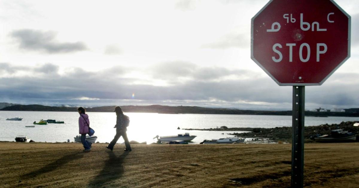 Iqaluit, northern Canada.</p>