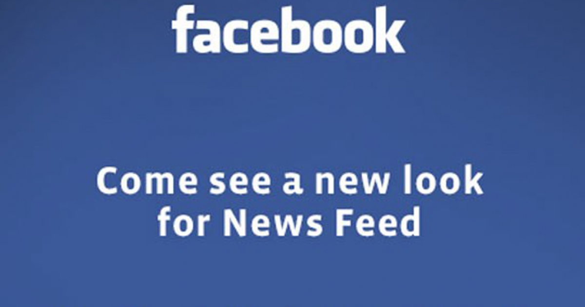 Facebook is promising a