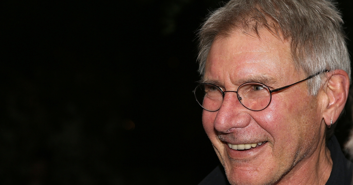 Harrison Ford attends The Morrison Hotel Gallery Opening At The Sunset Marquis on February 7, 2013 in West Hollywood, California.</p>