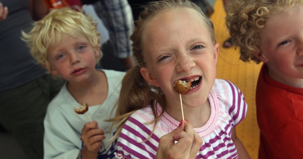 Children eat free meatballs at the opening of an Ikea store in Colorado in 2011. In February 2013, Ikea pulled their meatballs from many stores after some were found to contain traces of horsemeat. A week later, Ikea faced yet another food scandal when reports surfaced that authorities in China found inappropriate levels of bacteria in almond cakes the furniture store was producing.</p>