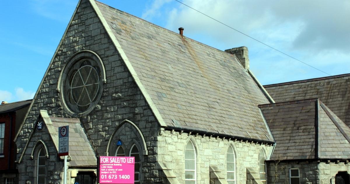 A church for sale in Dublin, Ireland.</p>