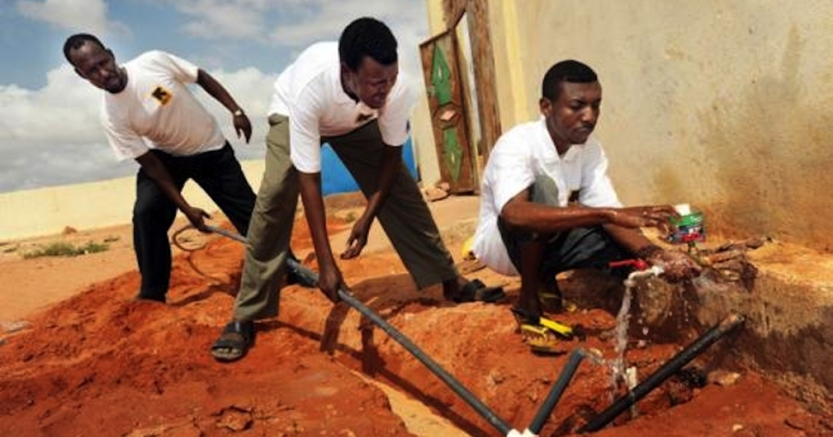 As Somalia and its neighbors endure the effects of a catastrophic drought, the IRC is responding to Somalis' urgent needs by erecting basins to catch rain water and helping to build and repaire boreholes.</p>