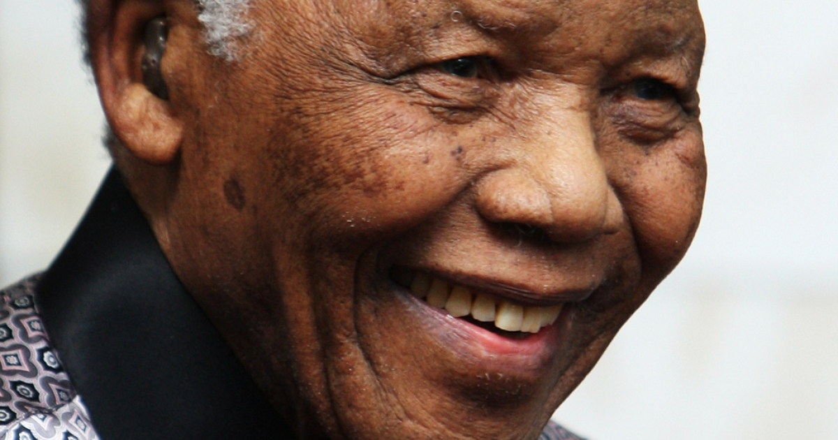 Nelson Mandela in 2008. The former South African President remains in