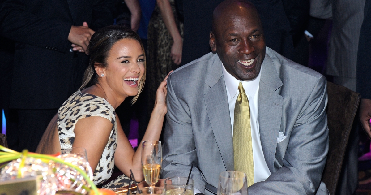 Michael Jordan and Yvette Prieto on March 30, 2012 in Las Vegas, Nevada.</p>