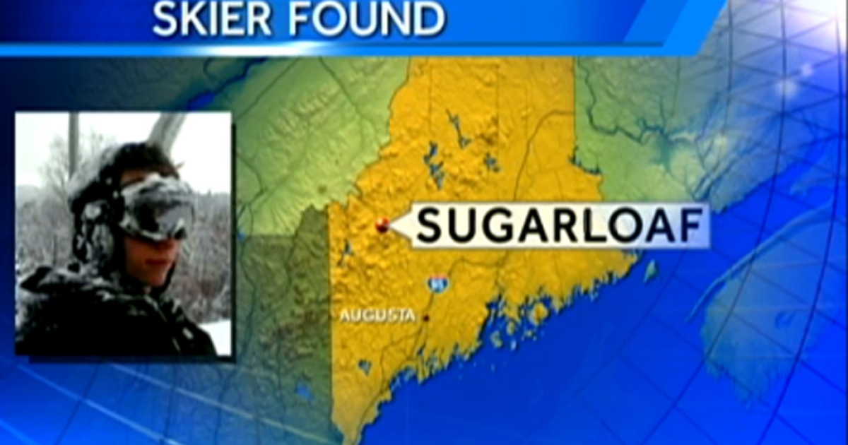 Snowmobile driver Joel Paul found 17-year-old Nicholas Joy who spent two nights lost on Sugarloaf Mountain in Maine on March 5, 2013. Joy said he built a snow cave to fight the cold.</p>