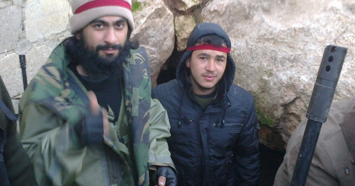 Yusuf Toprakkaya (L), also known as Abu Walid, is an Australian who joined the Syrian rebels. Labeled a terrorist by both the regime of Syrian President Bashar al-Assad and some western security agencies, Toprakkaya was well loved among average Syrians in rebel-held territory. He was killed in battle on Dec. 30.</p>