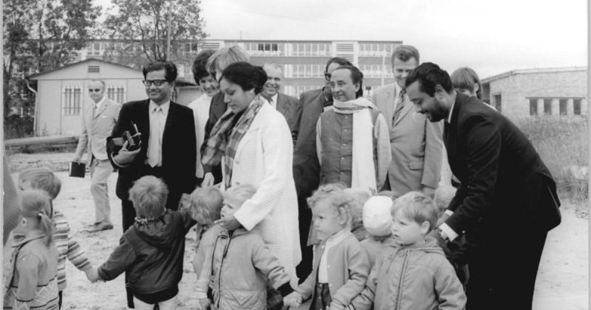 Zillur Rahman in East Germany (1973)</p>