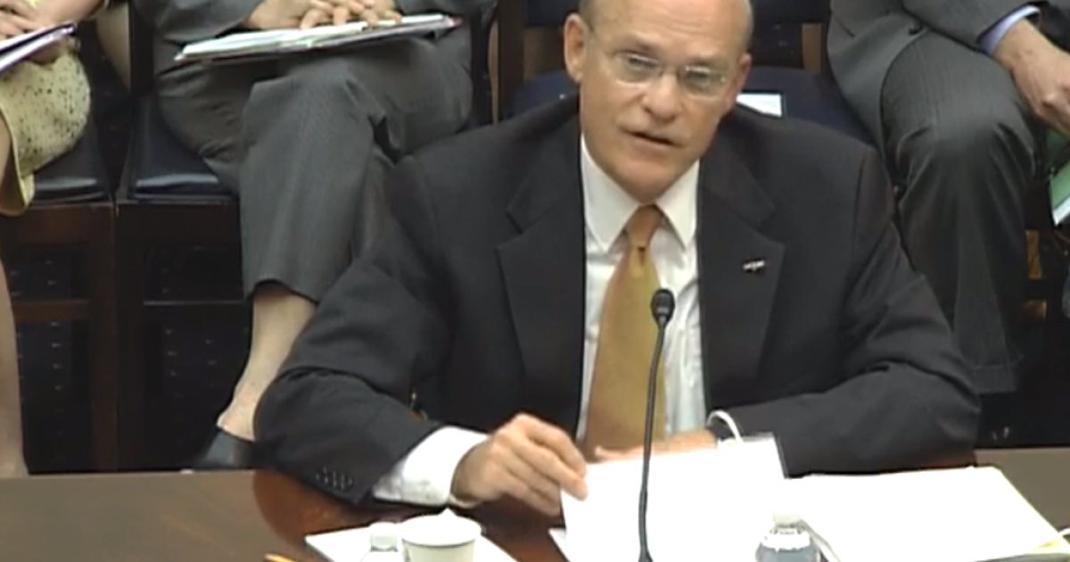 Admiral Timothy Ziemer, US Global Malaria Coordinator, at a hearing held by the House Foreign Affairs Subcommittee on Africa, Global Health, Global Human Rights, and International Organizations.</p>