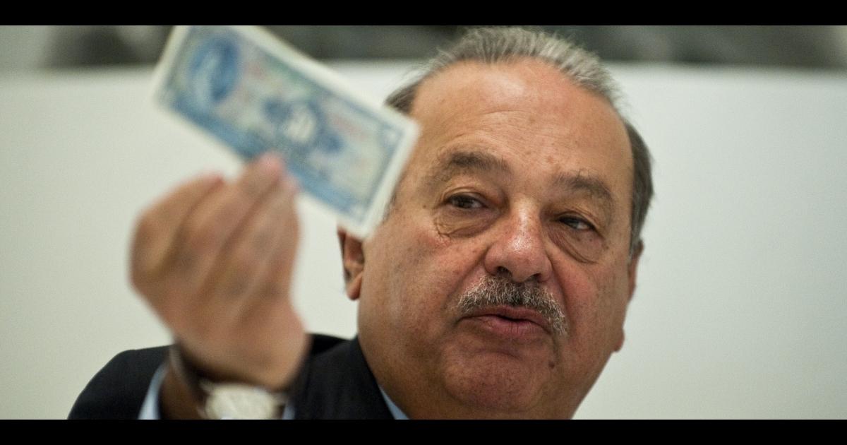 Carlos Slim may have to kiss that peso goodbye.</p>