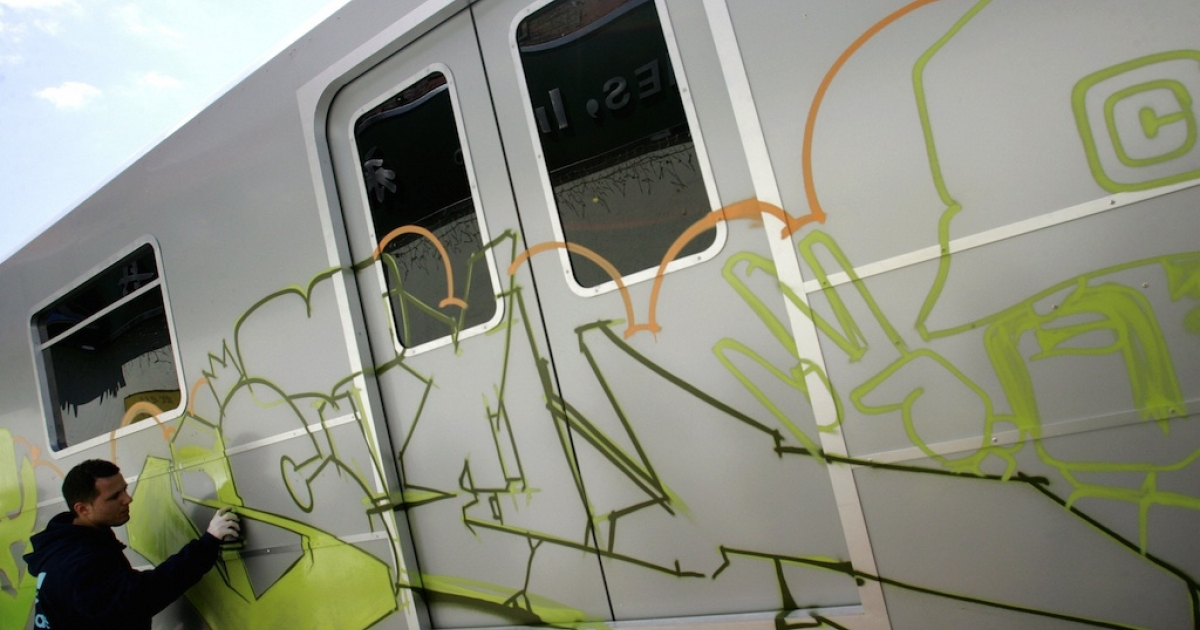 Germany's railways have a new strategy for cracking down on graffiti artists.</p>