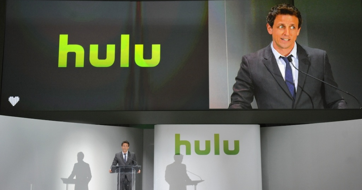 NEW YORK, NY - APRIL 30: Seth Meyers attends the Hulu NY Upfront on April 30, 2013 in New York City. Hulu is reportedly considering offers from seven bidders including Yahoo!, DirecTV and several private equity firms in a private auction.</p>