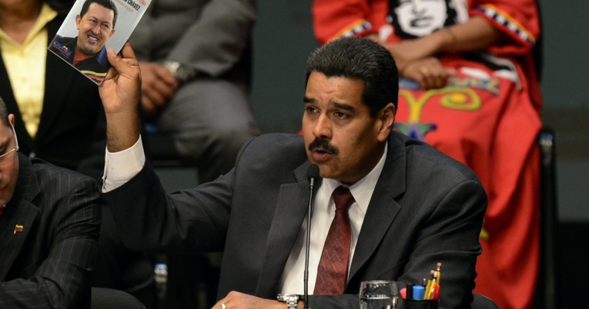 It appears Venezuela's Nicolas Maduro has taken more than a page from Hugo Chavez's book.</p>