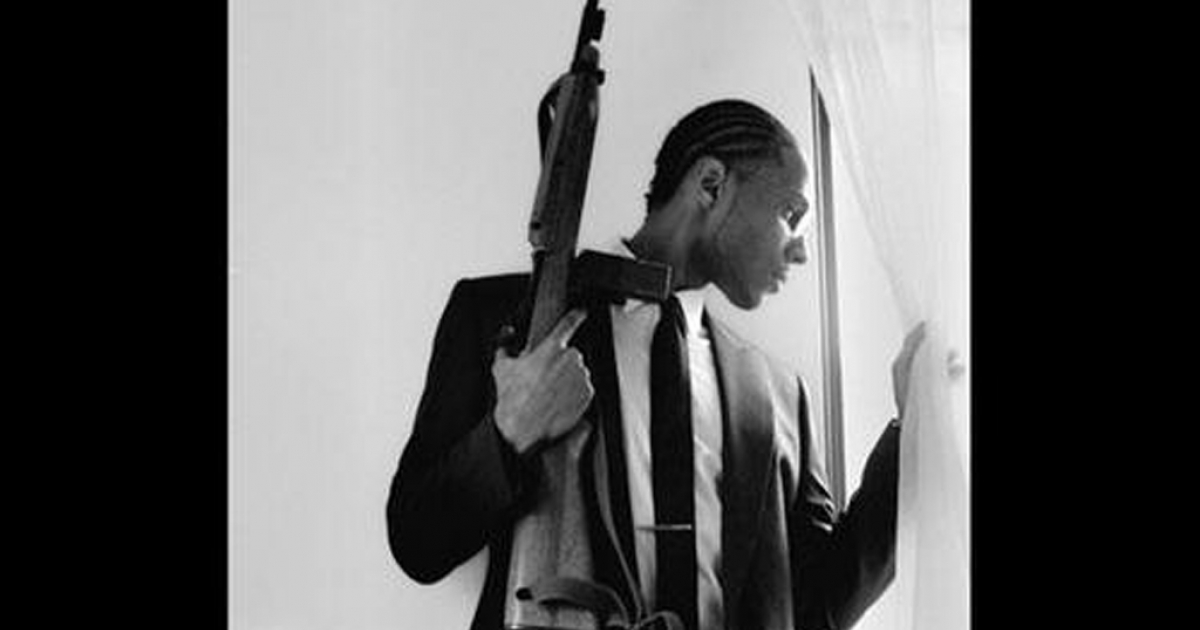 Malcolm Shabazz, the grandson of civil rights leader Malcolm X</p>