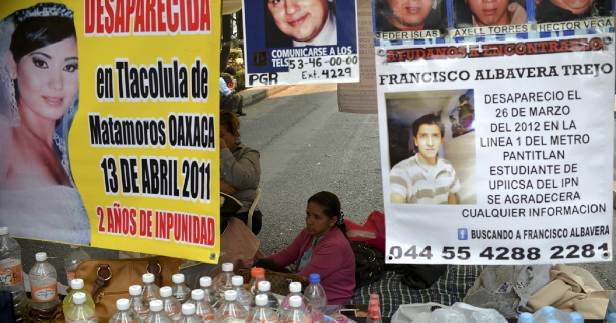 Mothers in Mexico City go on hunger strike, demanding that the government investigate the disappearance of their children.</p>