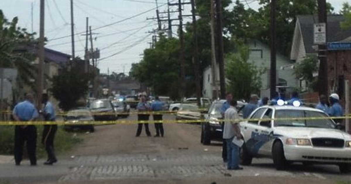 At least 12 people, including a 10-year-old girl, were shot during a Mother's Day parade in New Orleans on May 12, 2013.</p>