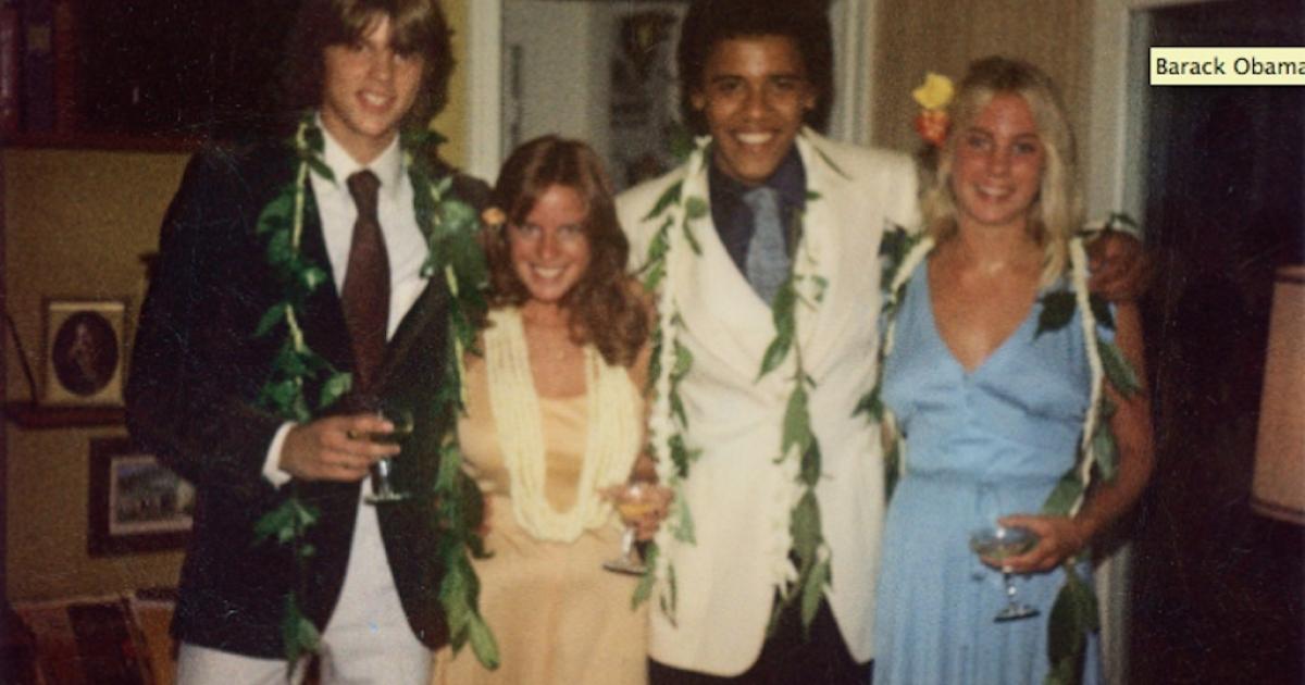 Obama at prom, circa 1979.</p>