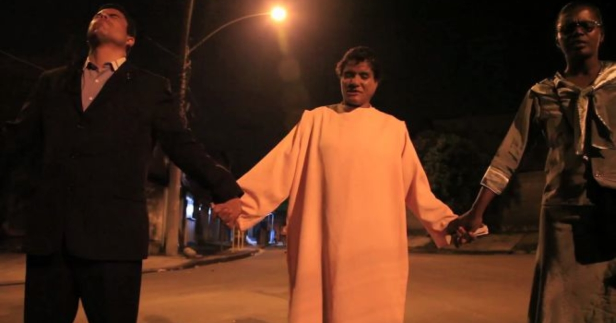 A still from On Location Video in Brazil, Rio crack addicts get evangelical clean-up.</p>