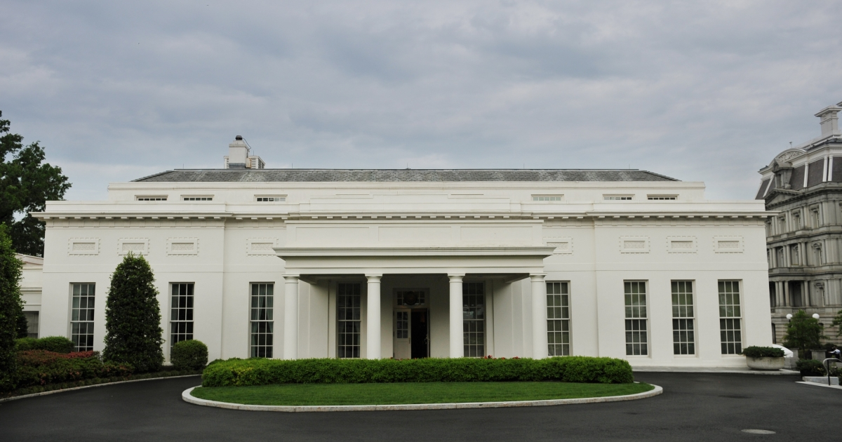 The West Wing of the White House in Washington, DC, was evacuated due to reports of smoke.</p>
