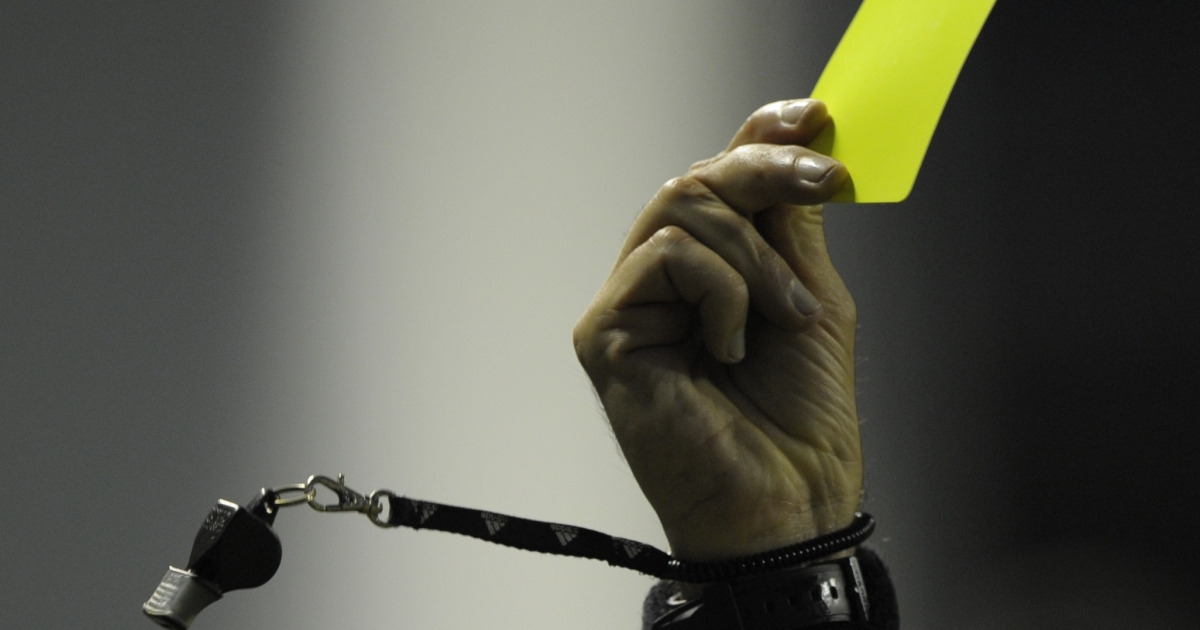 Police have accused a 17-year-old player in a recreational soccer league of punching referee Ricardo Portillo after the man called a foul on him and issued him a yellow card.</p>