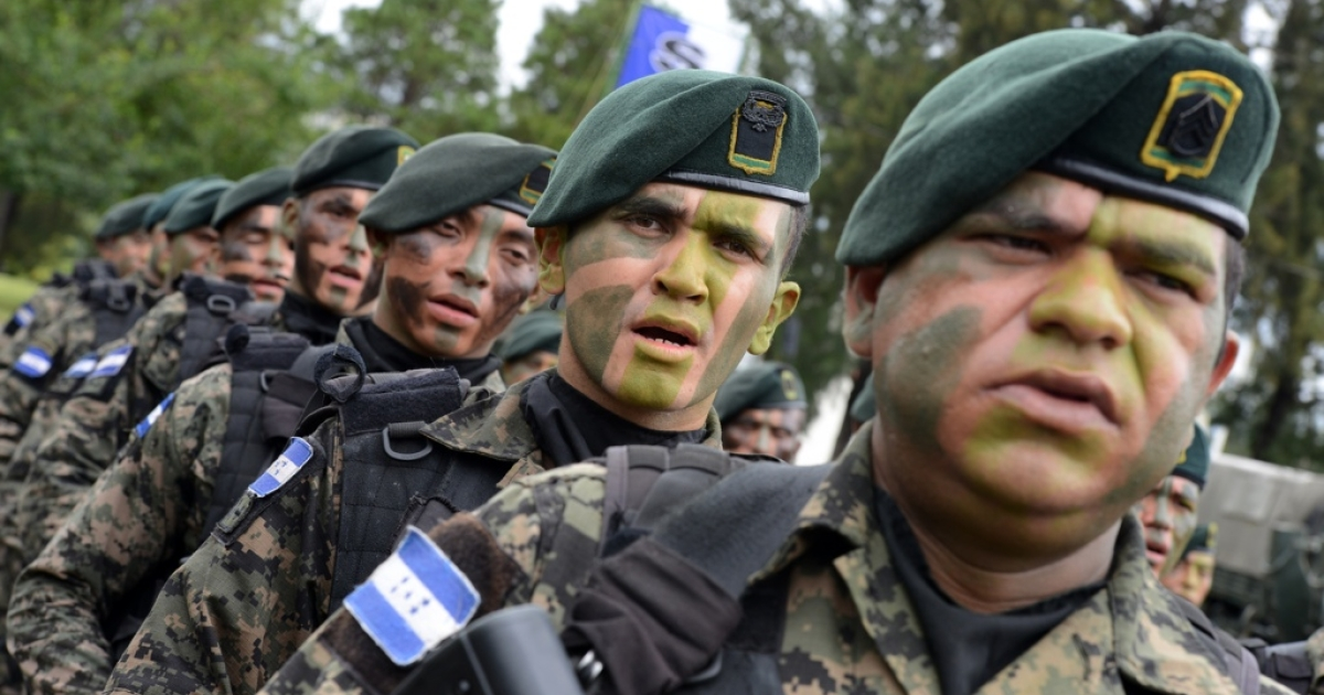Honduras' newly created military police are a hot button in the country's election.</p>