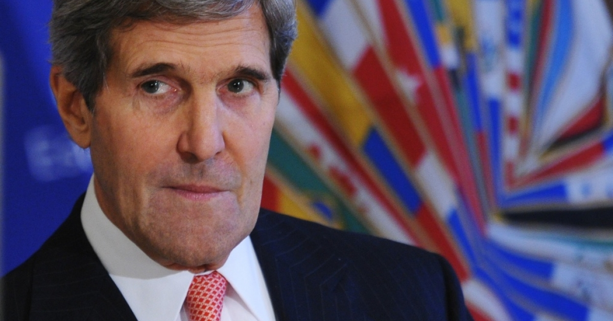 Secretary of State John Kerry pulled the plug on the old