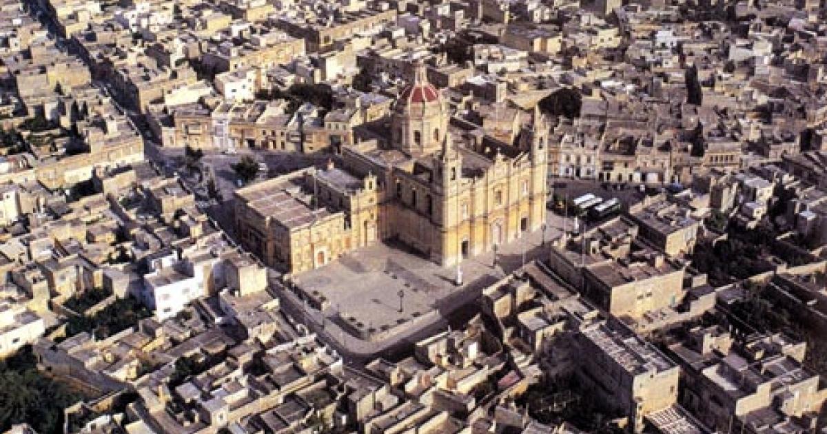 Zejtun City Center in Malta.</p>