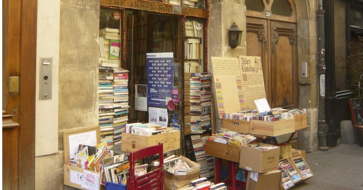 The Abbey Bookshop is one of 700 across Paris.</p>