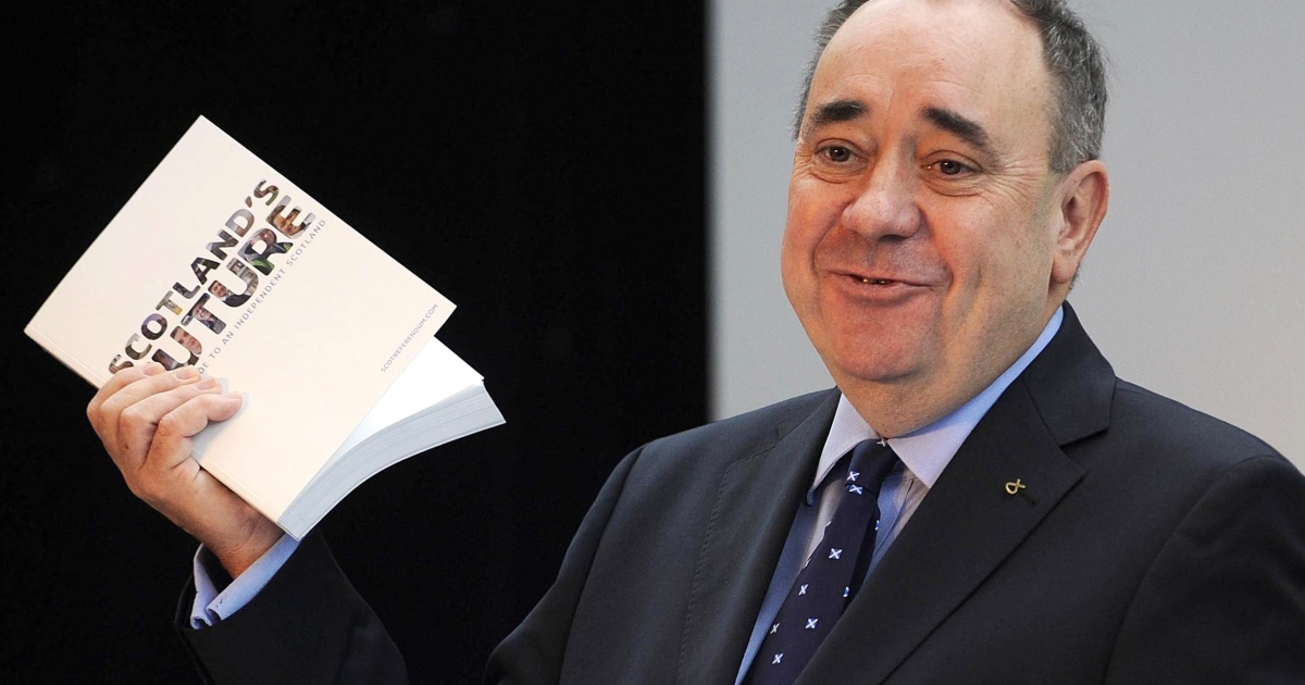 Salmond reveals the white paper on Tuesday.</p>