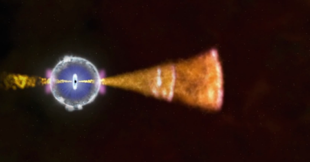 The gamma ray explosion witnessed on April 27, caused by the death of a star, was the brightest seen to date.</p>