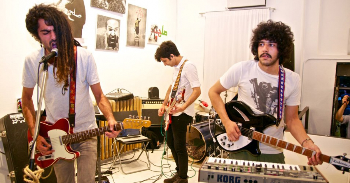 Several members of the Iranian indie rock band The Yellow Dogs, pictured above, were shot and killed by another musician in their Brooklyn apartment on Nov. 11, 2013.</p>