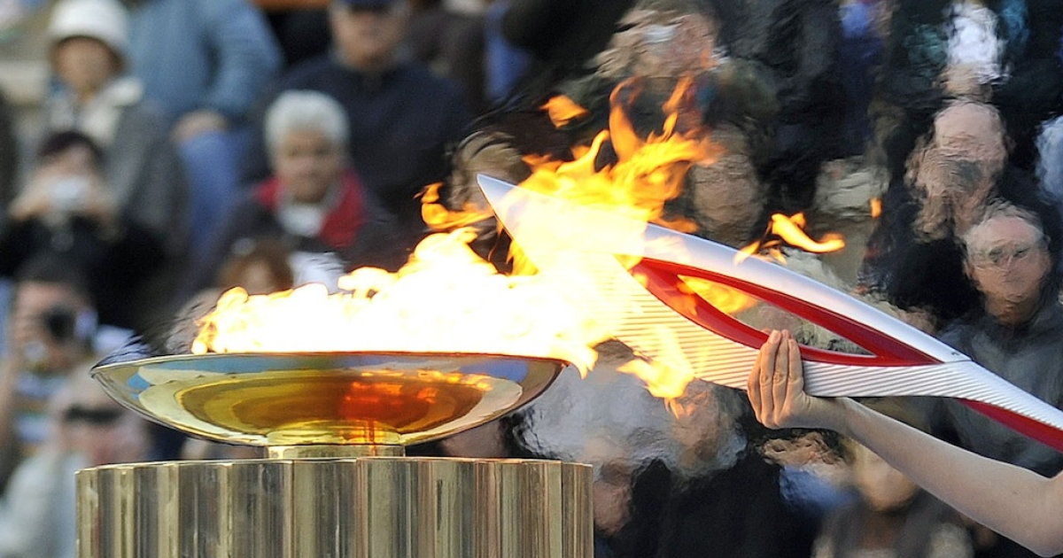 The Olympic flame has gone out four times in Russia since Sunday sparking calls for a criminal investigation.</p>