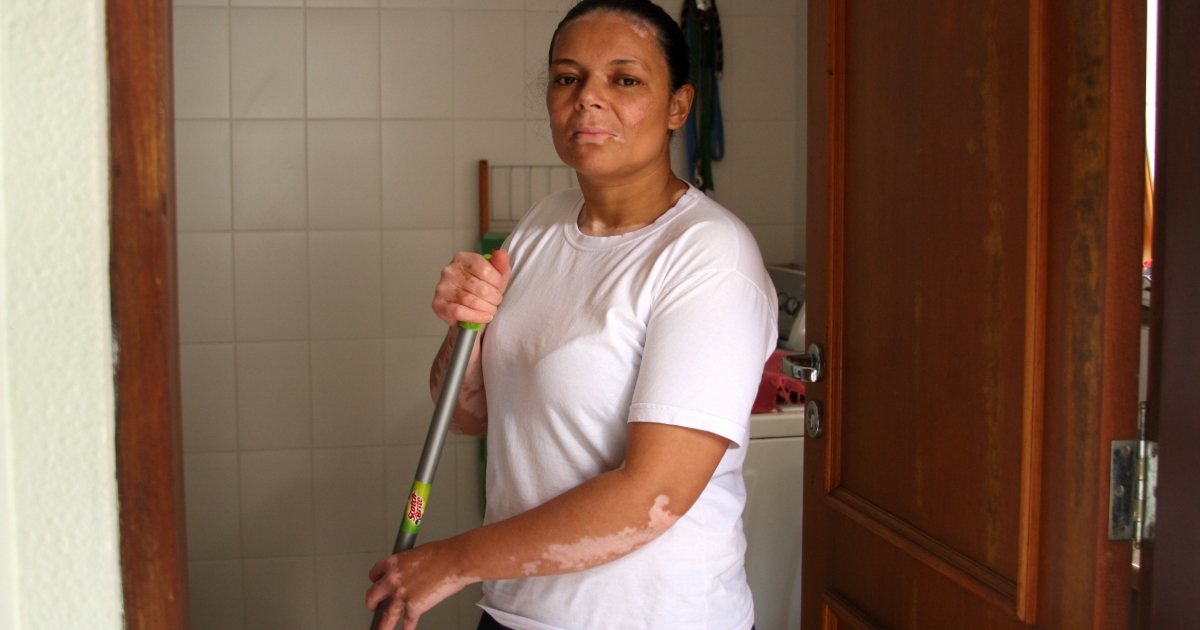 Madalena Alexandre da Silva is one of  millions of Brazilians struggling to make credit card payments. She said she feels