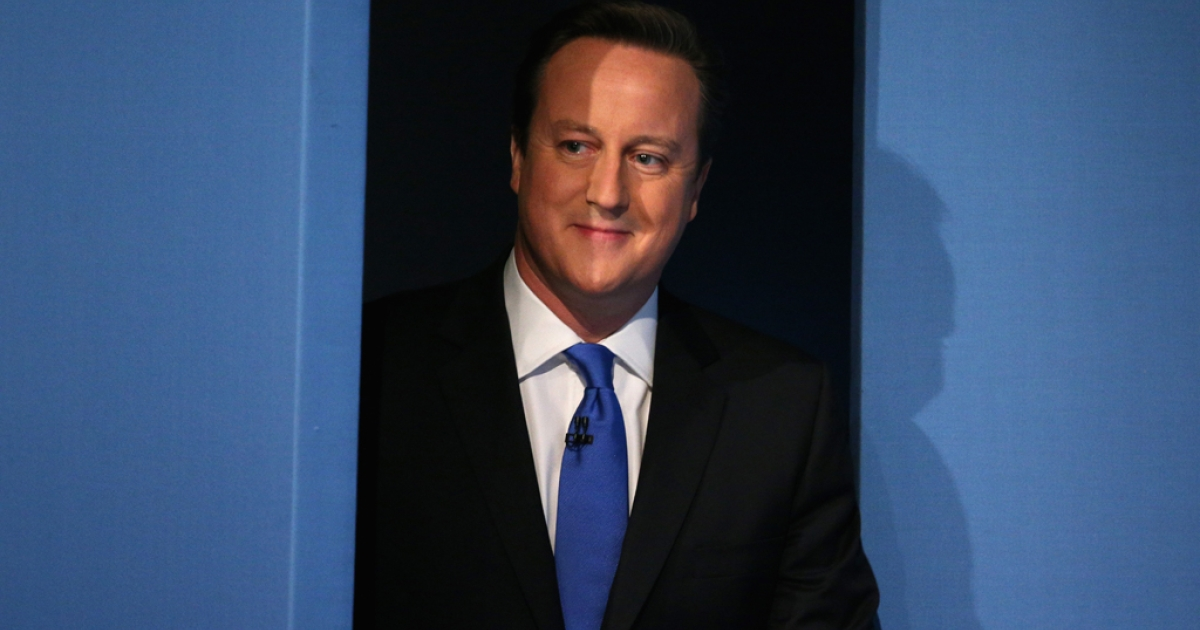 British Prime Minister David Cameron stands out among the European leaders criticizing the National Security Agency's alleged surveillance of European leaders and citizens.</p>