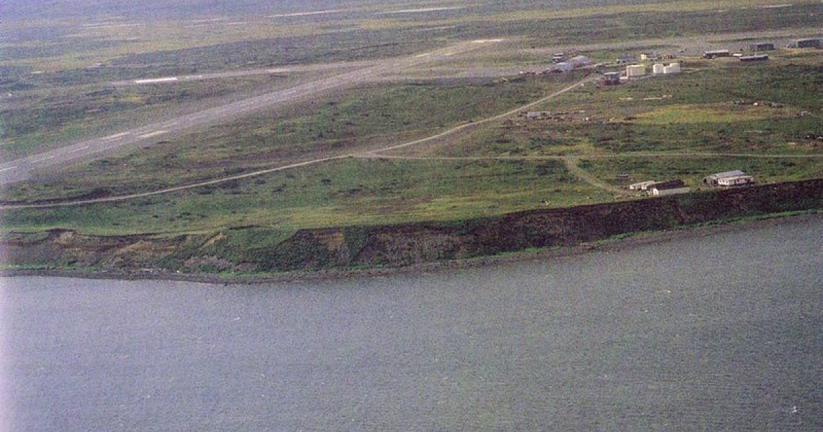 The small settlement of Cold Bay in Alaska.</p>