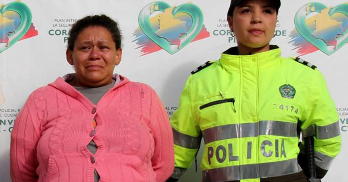 Colombian Margarita de Jesus Zapata Moreno, 45, is accused of selling the virginity of her 12 daughters for $200 a piece to make ends meet.</p>