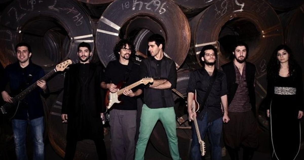 Mashrou Leila, a new alternative rock band from Lebanon.</p>