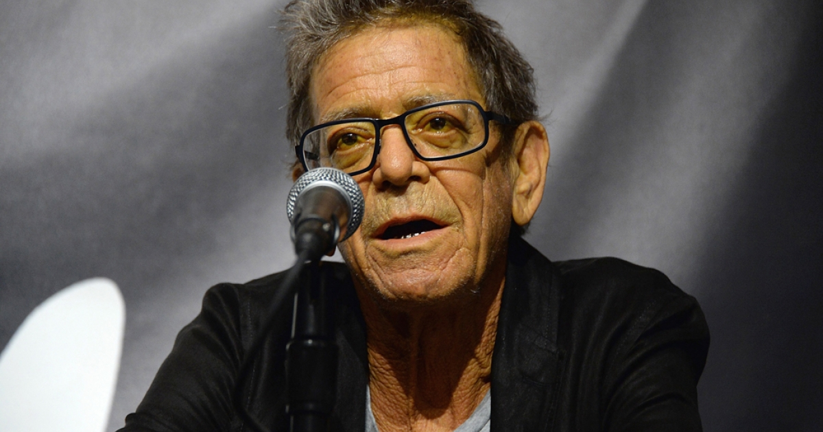Lou Reed on October 3, 2013 in New York City. The American music legend who founded The Velvet Underground passed away on October 27, 2013.</p>