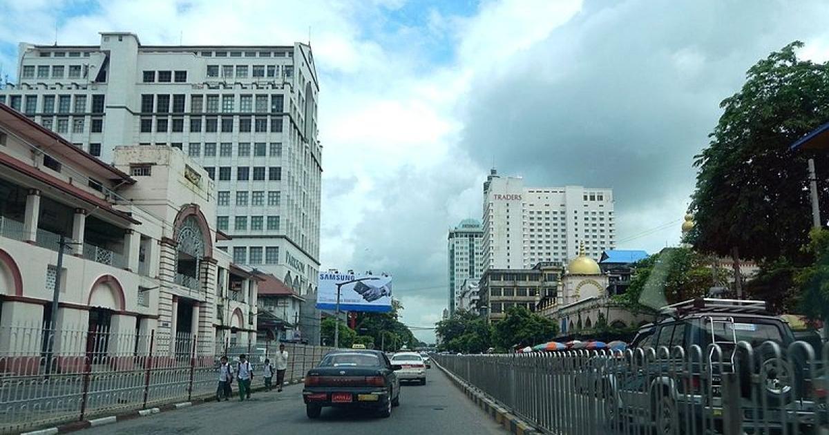 Traders Hotel in Yangon, Myanmar.</p>