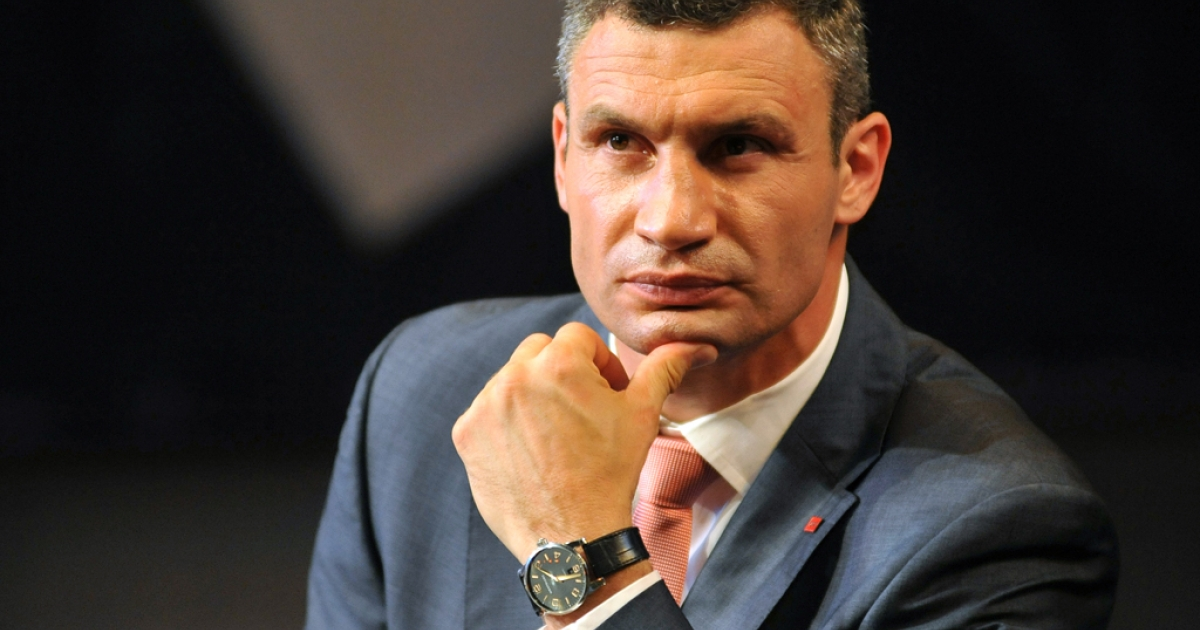 Vitaly Klitschko, leader of the Ukrainian opposition UDAR (Punch) party, announced in October that he would run for president.</p>
