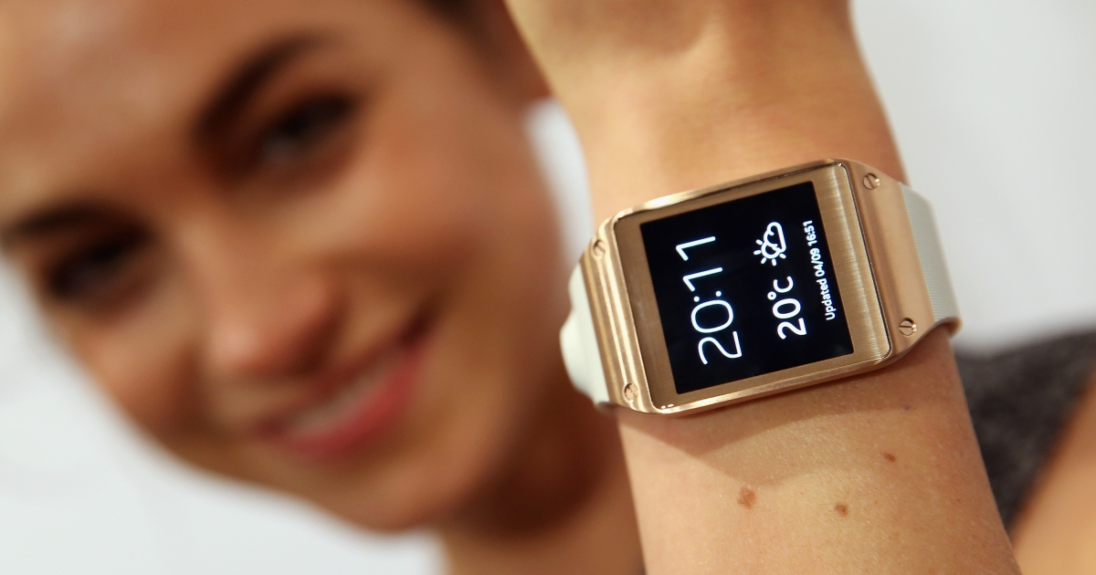 Samsung unveiled its new Galaxy Gear smartwatch on Wednesday to much fanfare.</p>