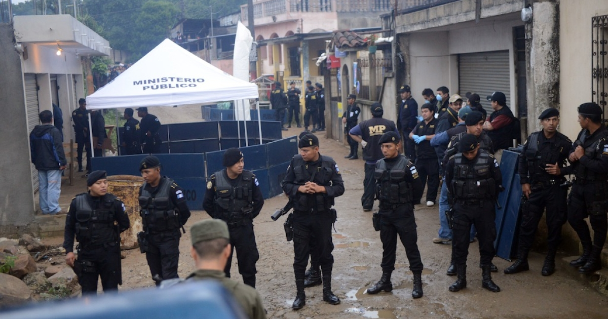 At least 11 people are dead in Guatemala after a drive-by shooting in a rural town.</p>