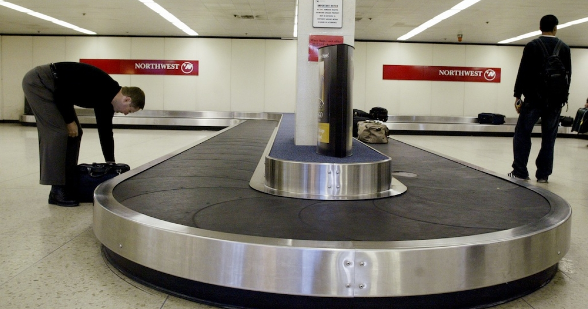 The baby died after becoming tangled and trapped in the rollers of a baggage carousel.</p>